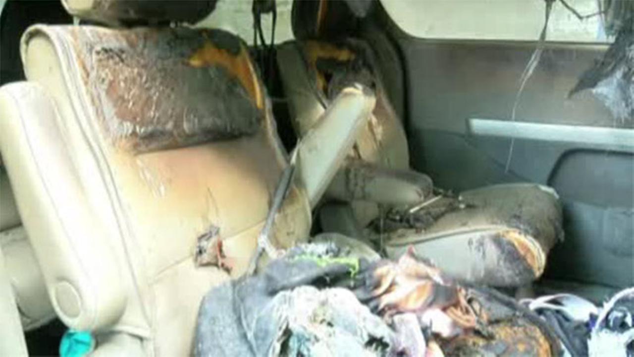 Ohio teen burned in minivan fireworks explosion