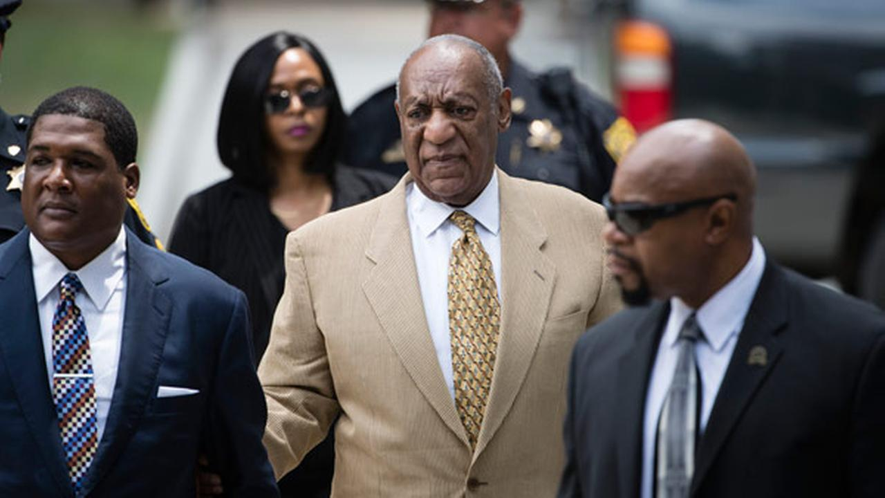 Bill Cosby arrives for a pretrial hearing in his criminal sex-assault case at the Montgomery County Courthouse in Norristown, Pa., Thursday, July 7, 2016.