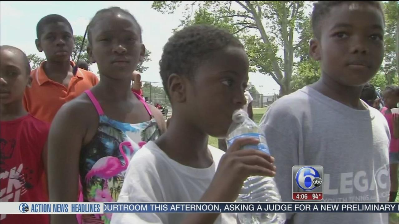 VIDEO: How kids are staying safe in the heat