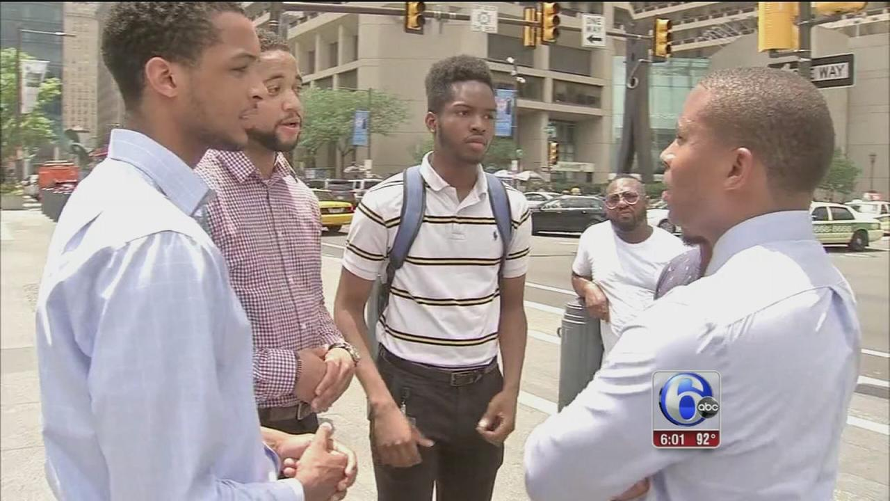 VIDEO: Philadelphia community responds to fatal US police shootings