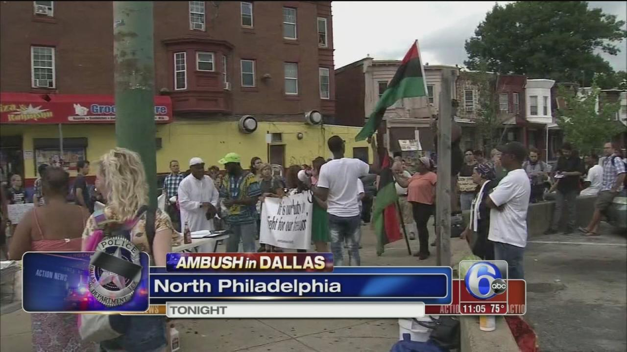 VIDEO: North Philly protest
