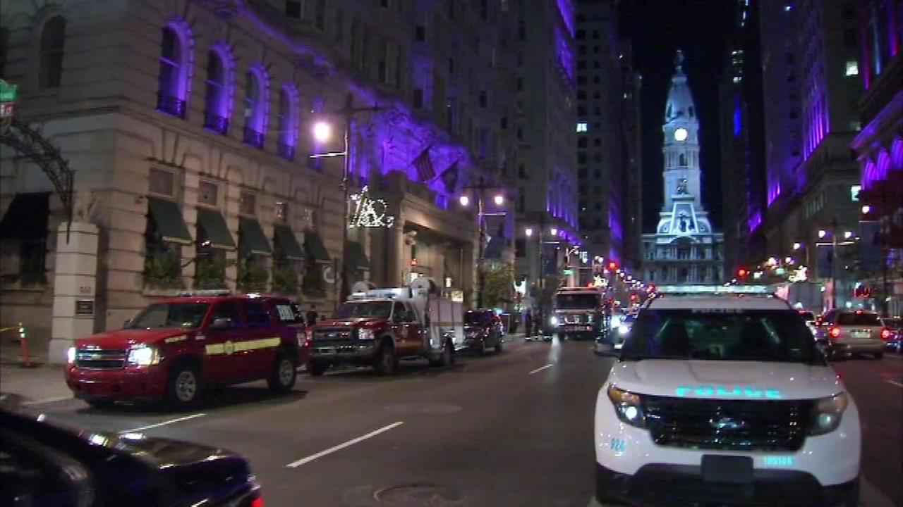 July 11, 2016: Police were called around 7 p.m. to the Hyatt at the Bellevue hotel located at Broad and Walnut streets for a report of people running on the rooftop.