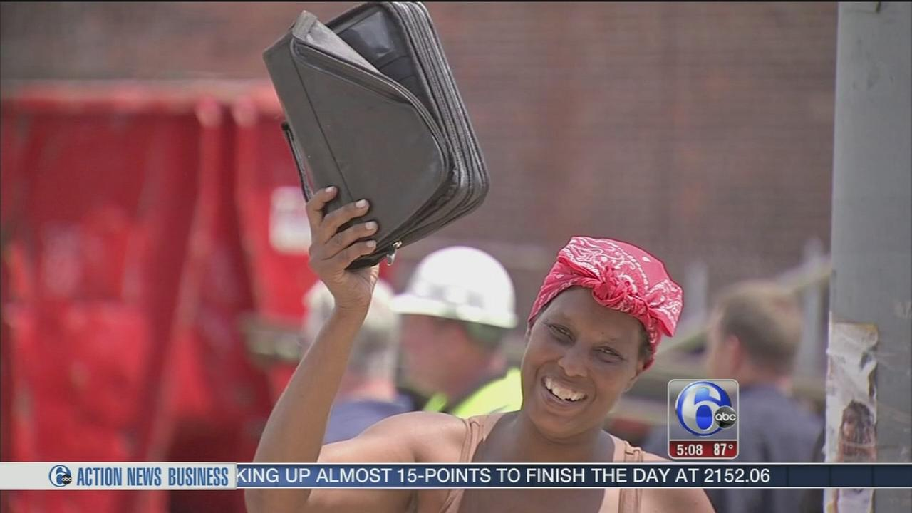 VIDEO: Woman survives house collapse, finds Bible