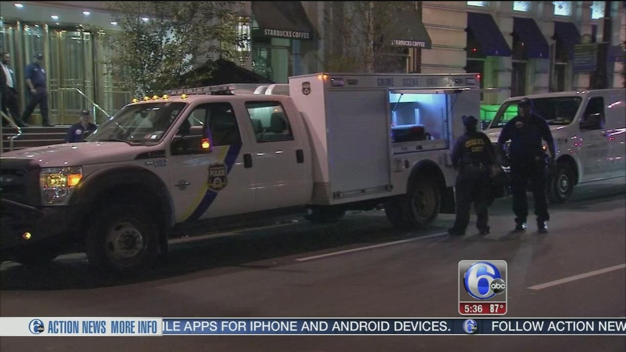 VIDEO: Man charged after trespassing on Center City hotel roof