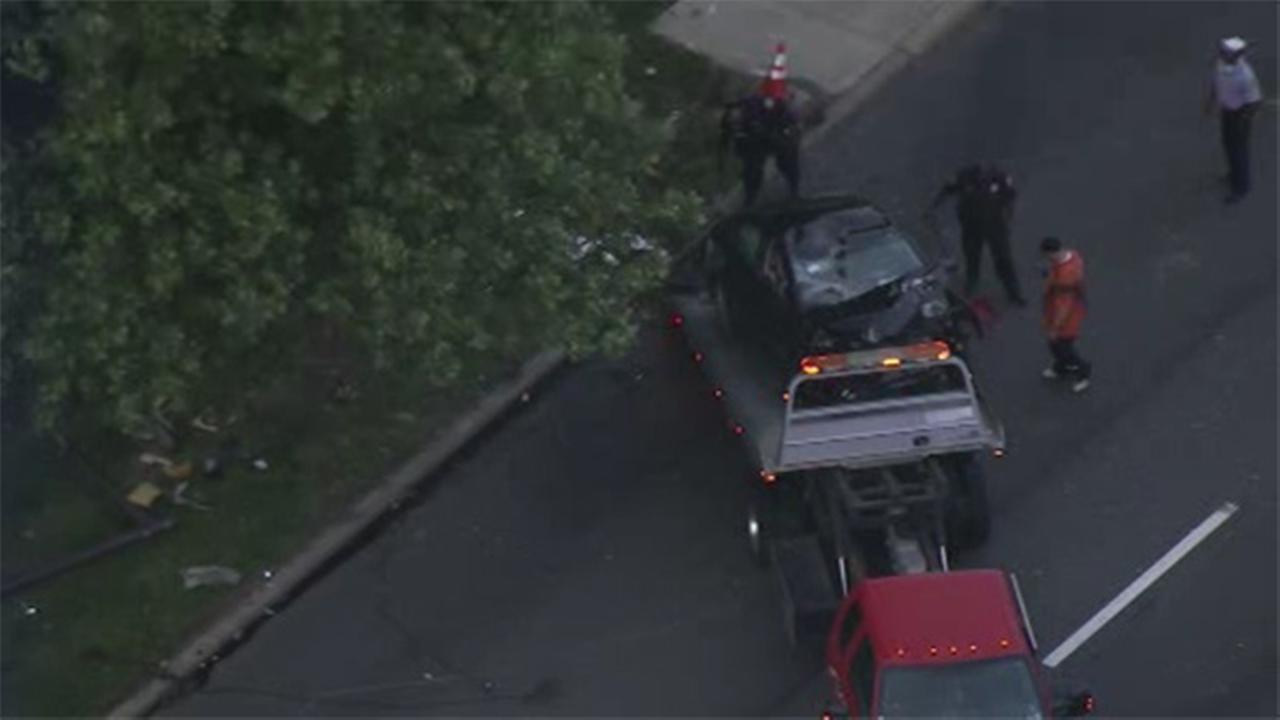 All lanes reopen after crash on NB Roosevelt Boulevard