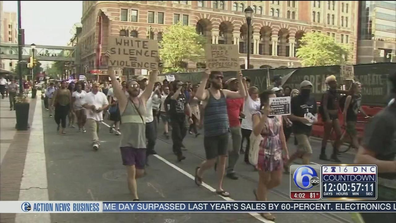 VIDEO: DNC protests