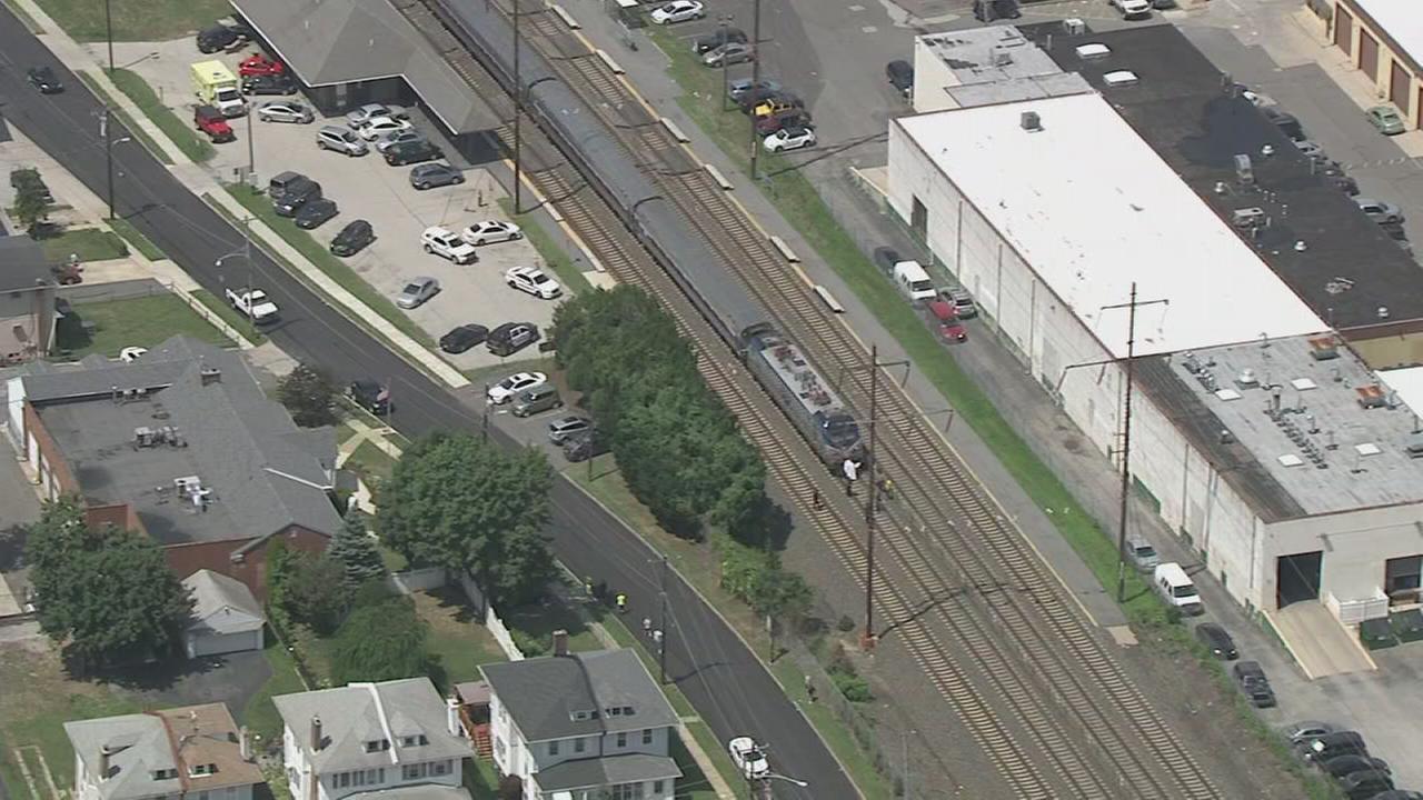 RAW VIDEO: Train kills pedestrian