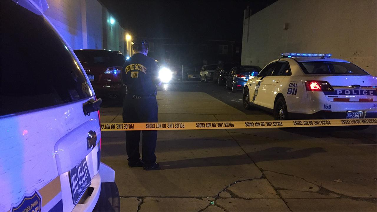 Police have a suspect in custody after a shooting that left a man dead in the Mayfair section of Philadelphia.