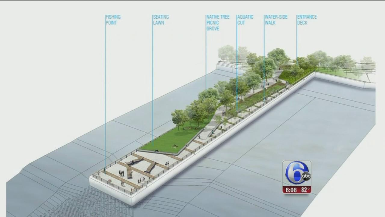 $2M project to transform Pier 68 along Delaware River