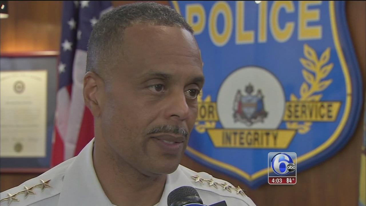 VIDEO: Philadelphia police react to shootings