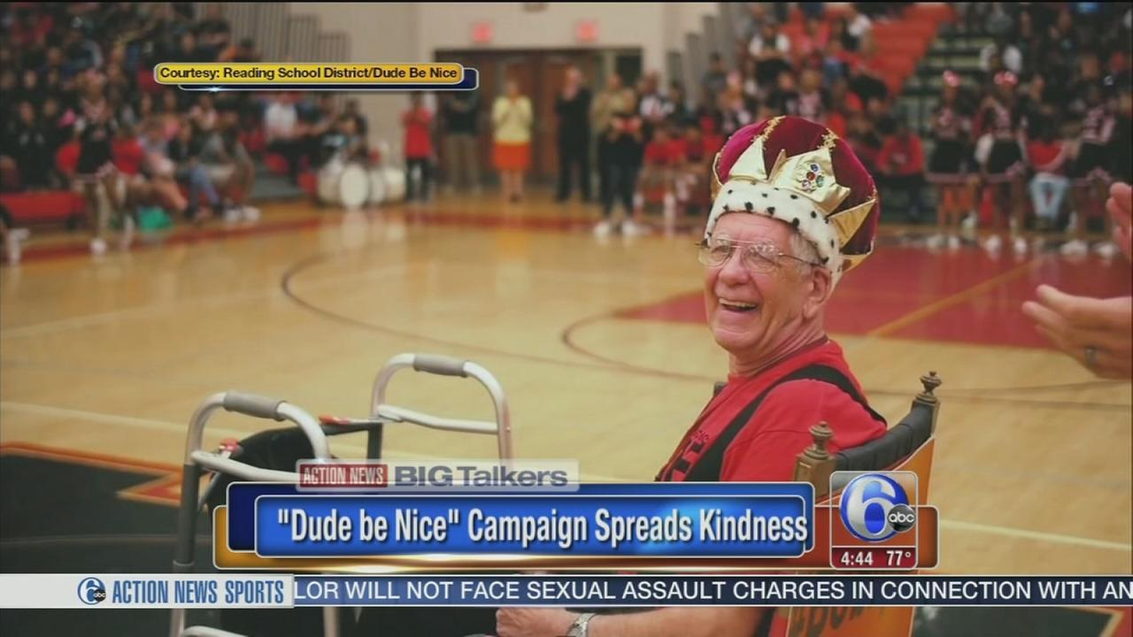 VIDEO: Dude Be Nice campaign