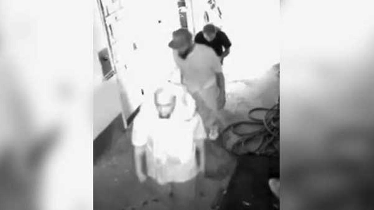 Philadelphia police are searching for a trio of burglars who broke into the McVeigh recreation center in North Philadelphia on July 17.
