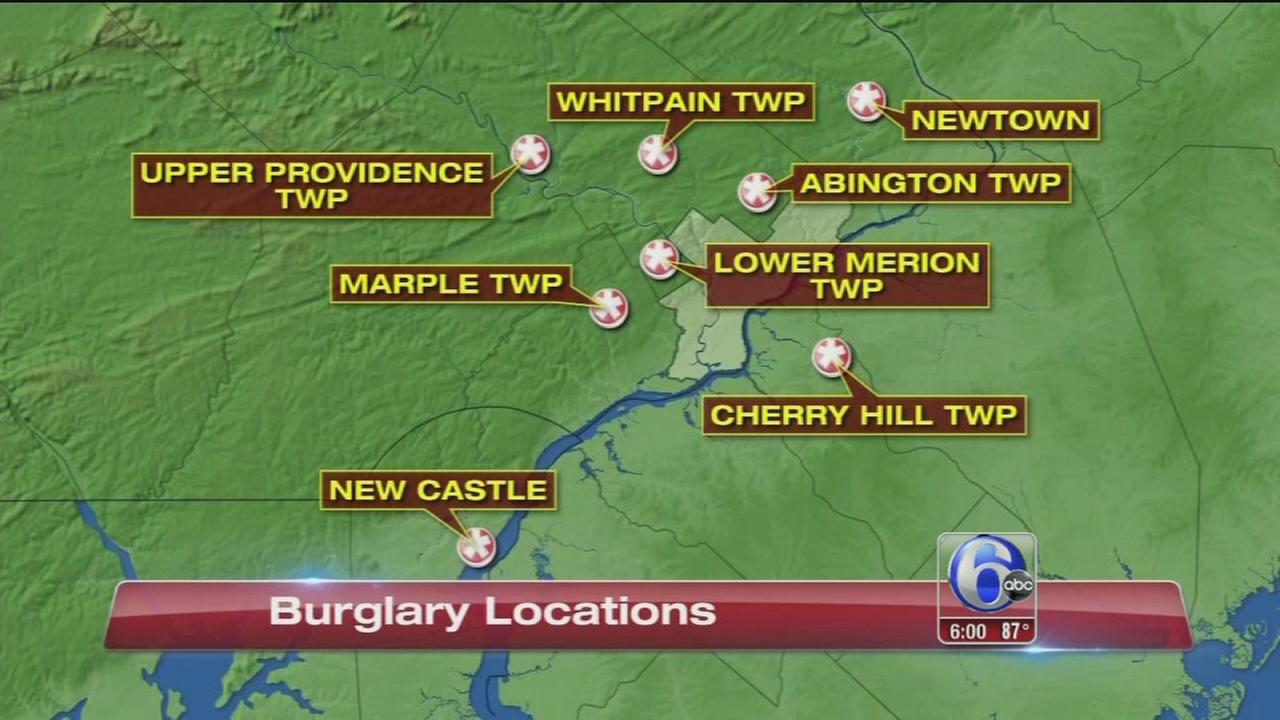 VIDEO: Burglary ring bust