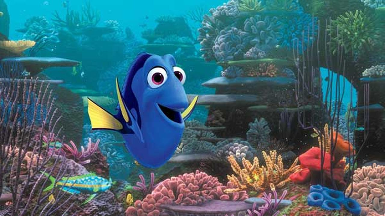 FILE - This undated file image released by Disney shows the character Dory, voiced by Ellen DeGeneres, in a scene from Finding Dory.