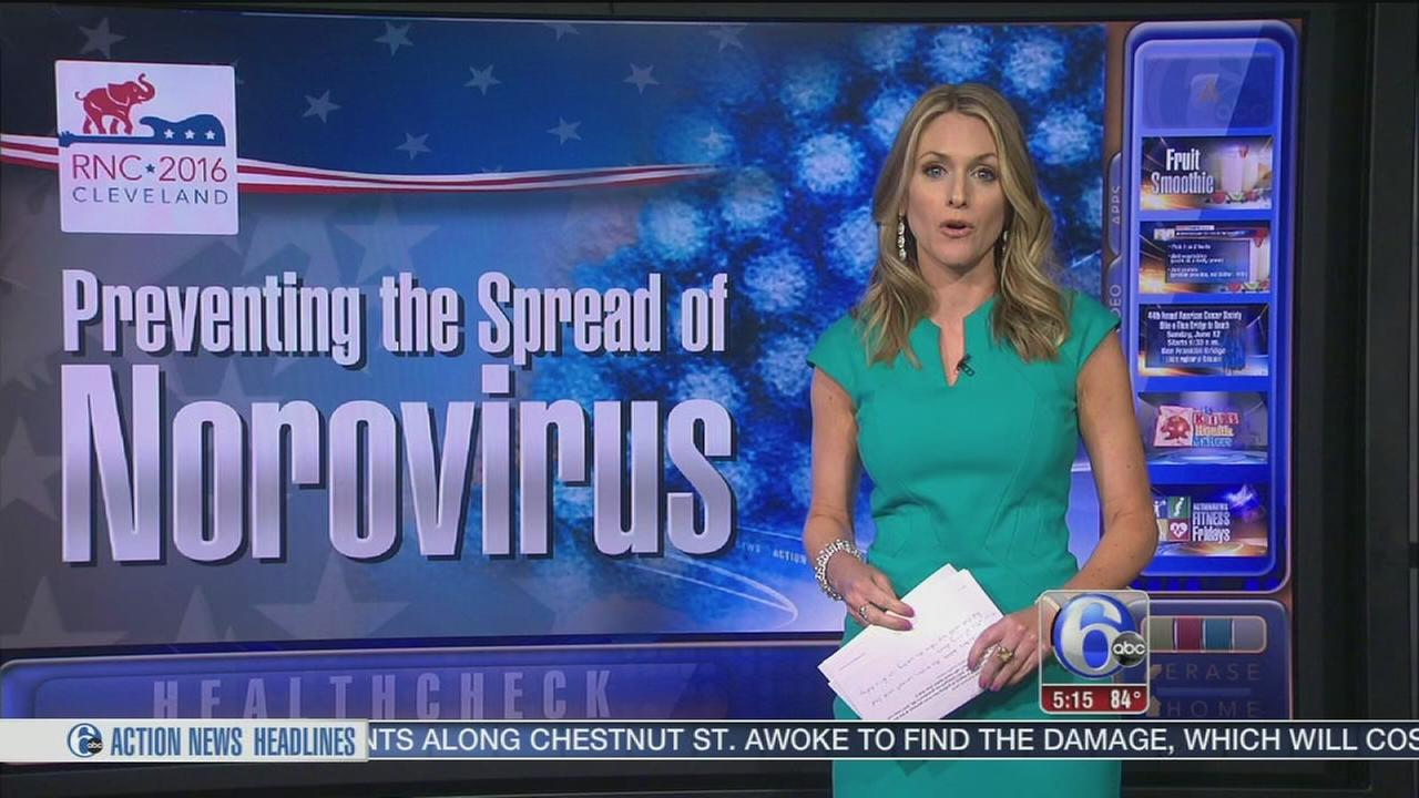 VIDEO: Preventing the spread of norovirus
