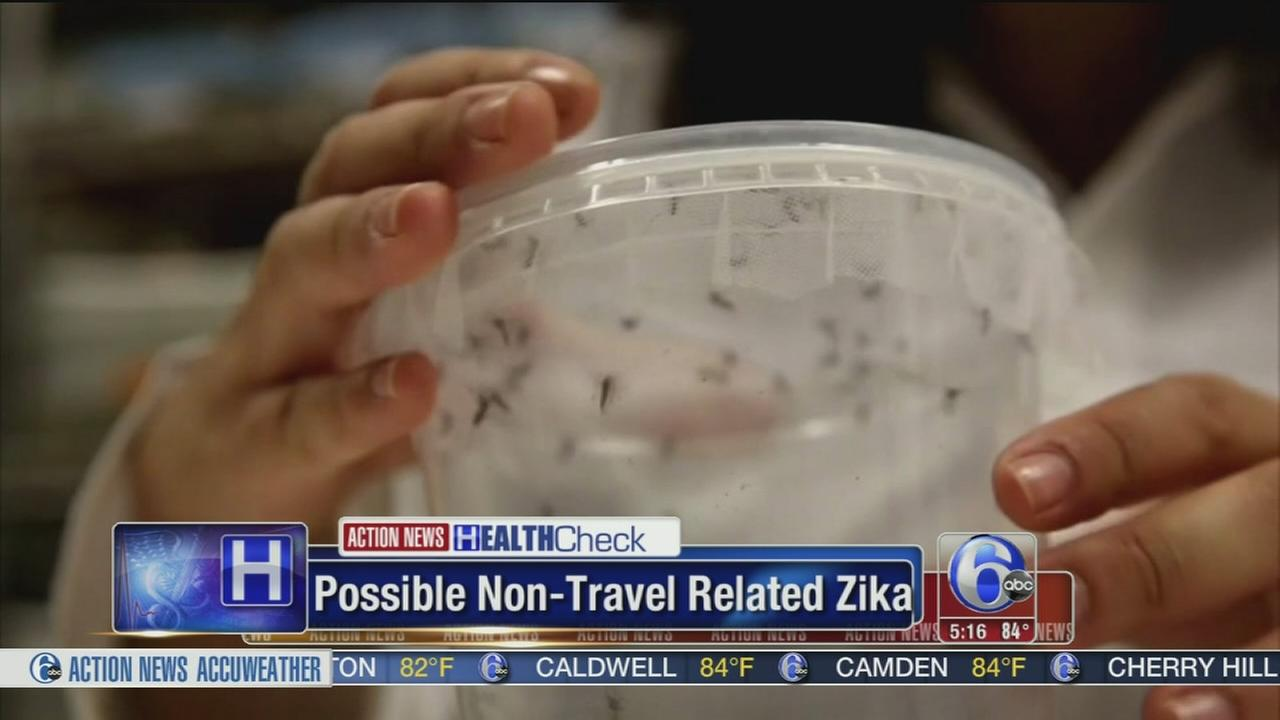 VIDEO: Possible non-travel related Zika