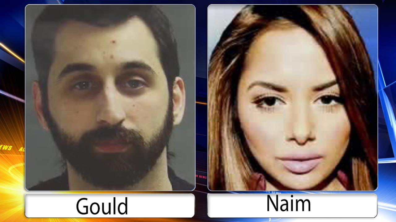 A man and woman wanted in connection with the deadly shooting of a Bucks County man have surrendered to authorities.