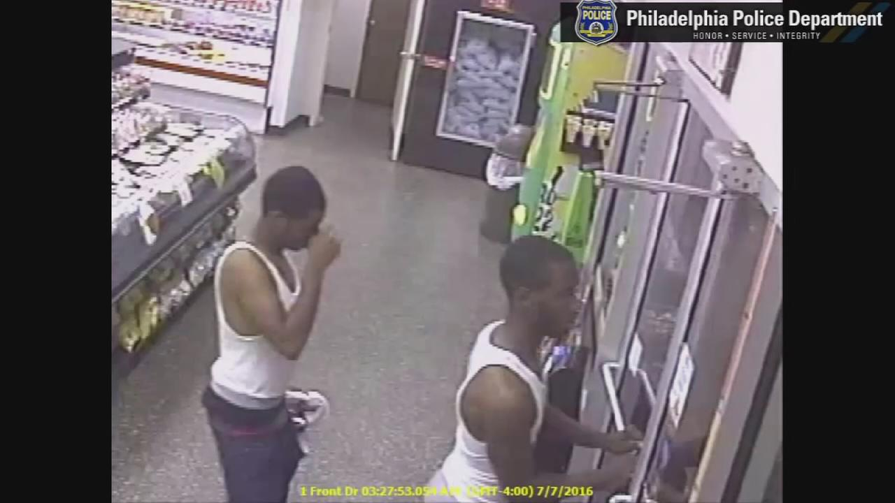 VIDEO: Shooting suspects seen in Upper Darby store