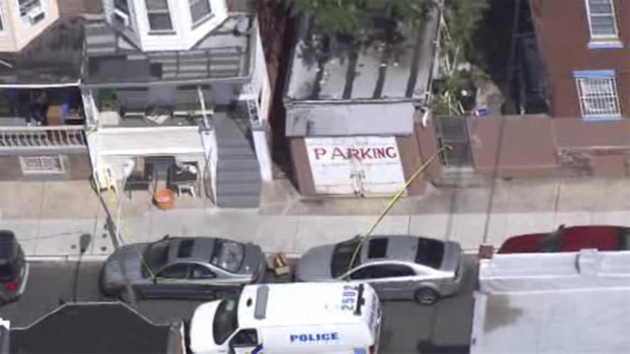A woman was found beaten to death inside a home in the Hunting Park section of Philadelphia.