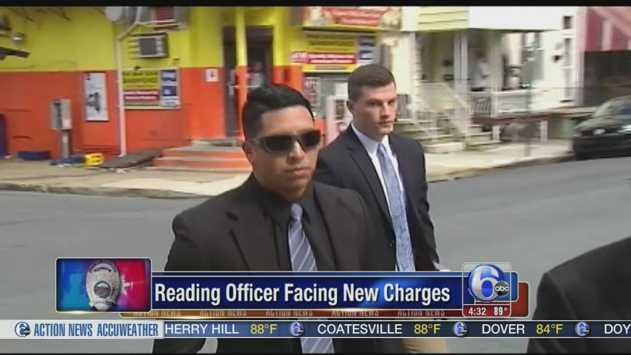 VIDEO: Reading officer recharged