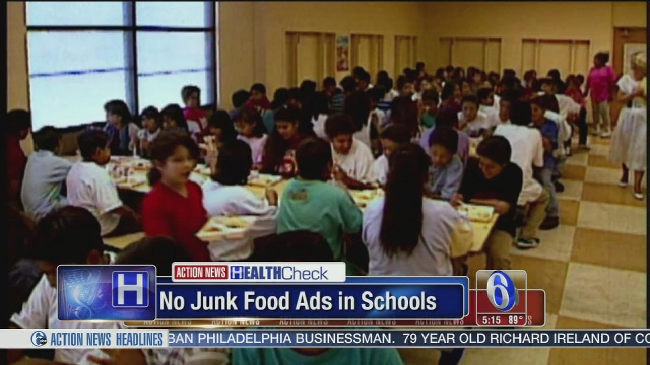 VIDEO: No junk food ads in schools