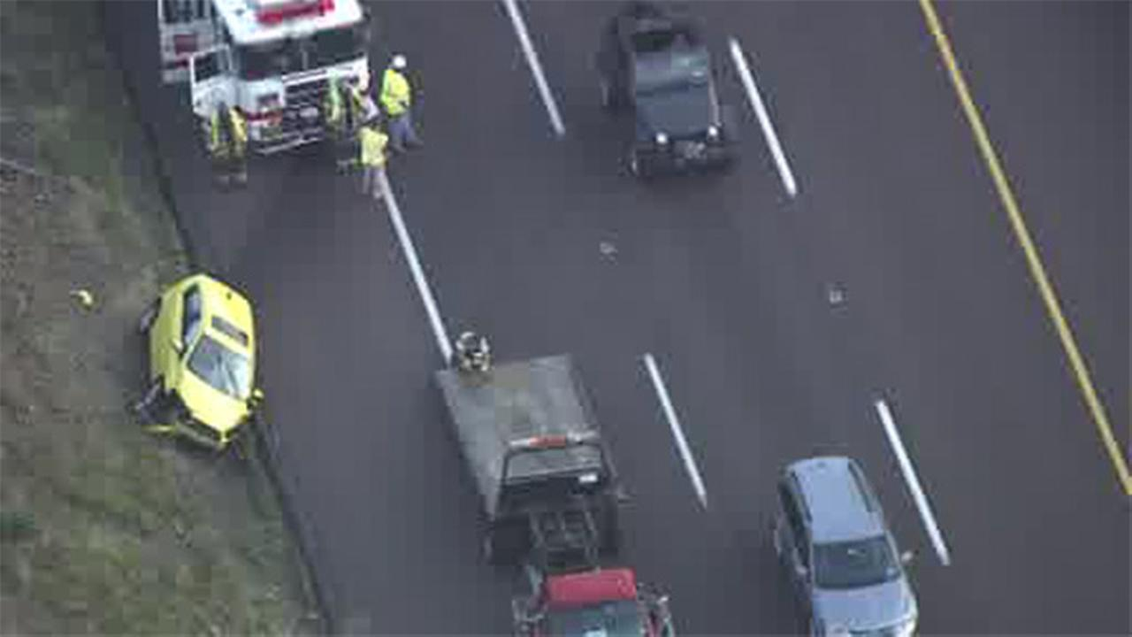Multi-vehicle crash cleared on SB NE extension in Lansdale