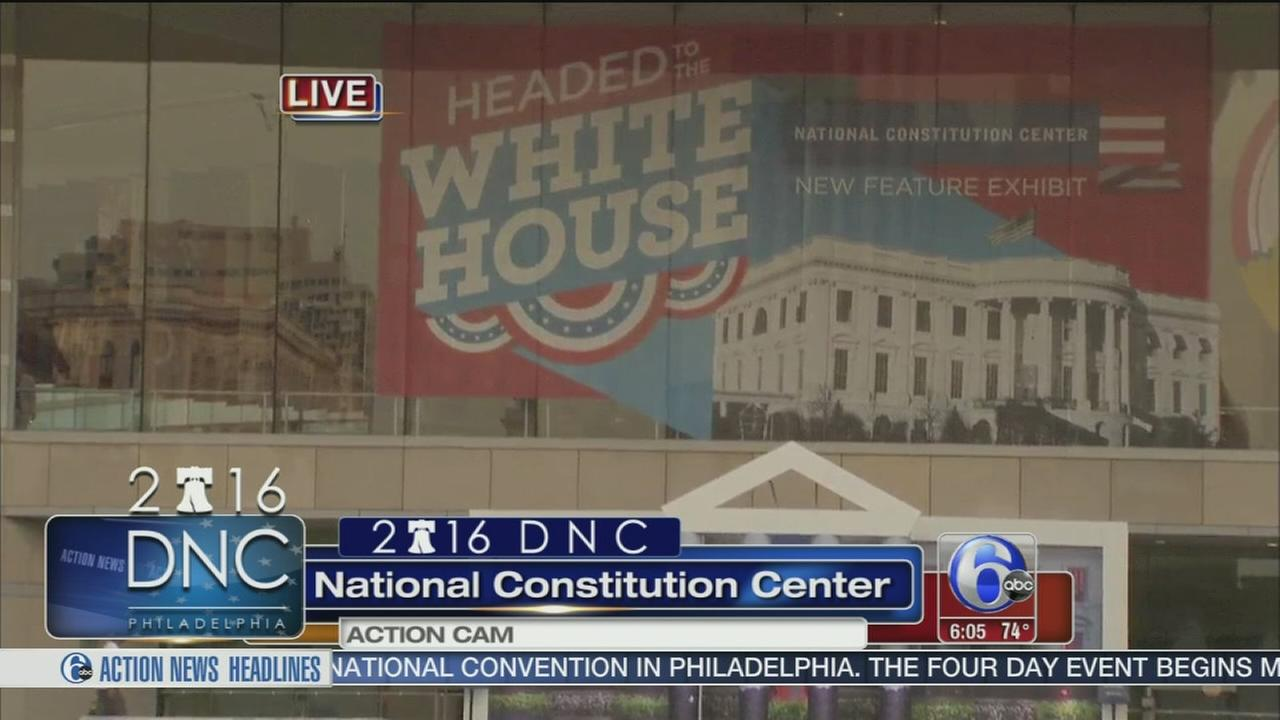 VIDEO: DNC arrives in Philadelphia with extreme heat