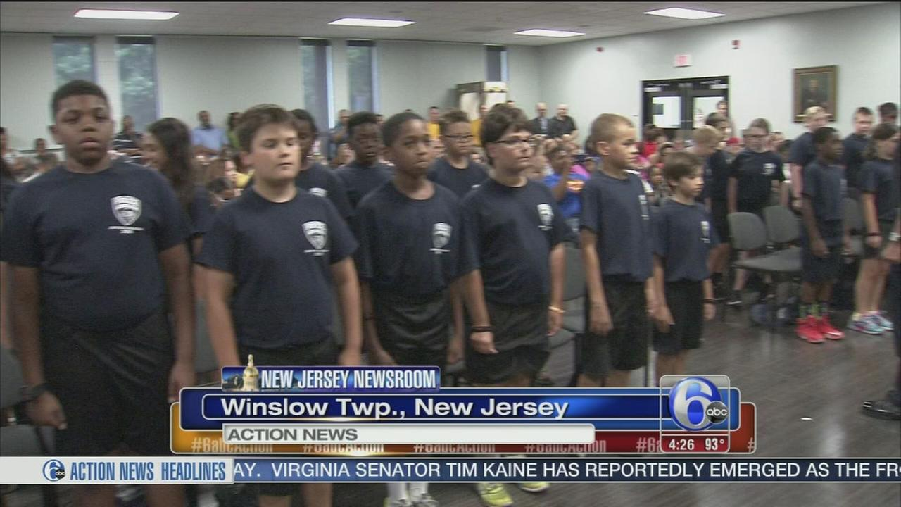 Winslow Twp. Jr. Police Academy