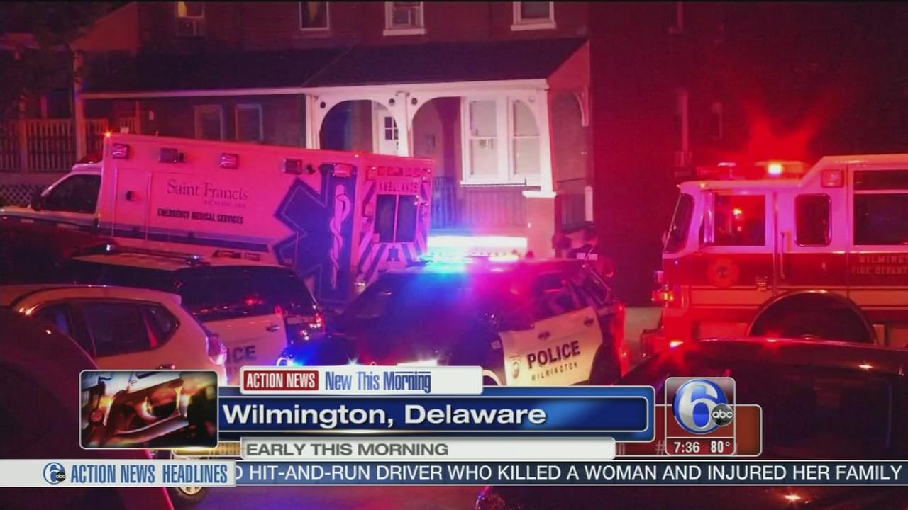 VIDEO: Woman shot multiple times in Wilmington