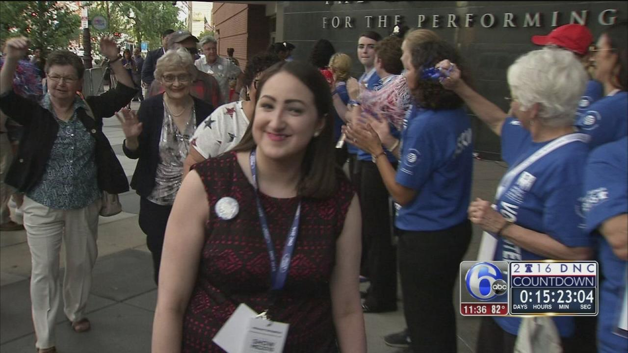 VIDEO: Youngest delegate