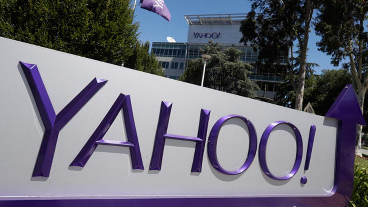 A Yahoo sign is seen at the companys headquarters Tuesday, July 19, 2016, in Sunnyvale, Calif.