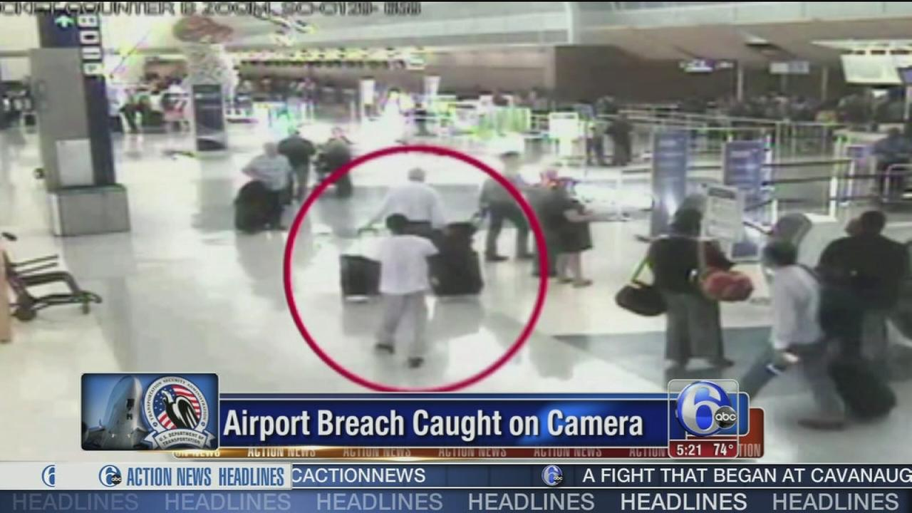 VIDEO:  Airport breach caught on camera