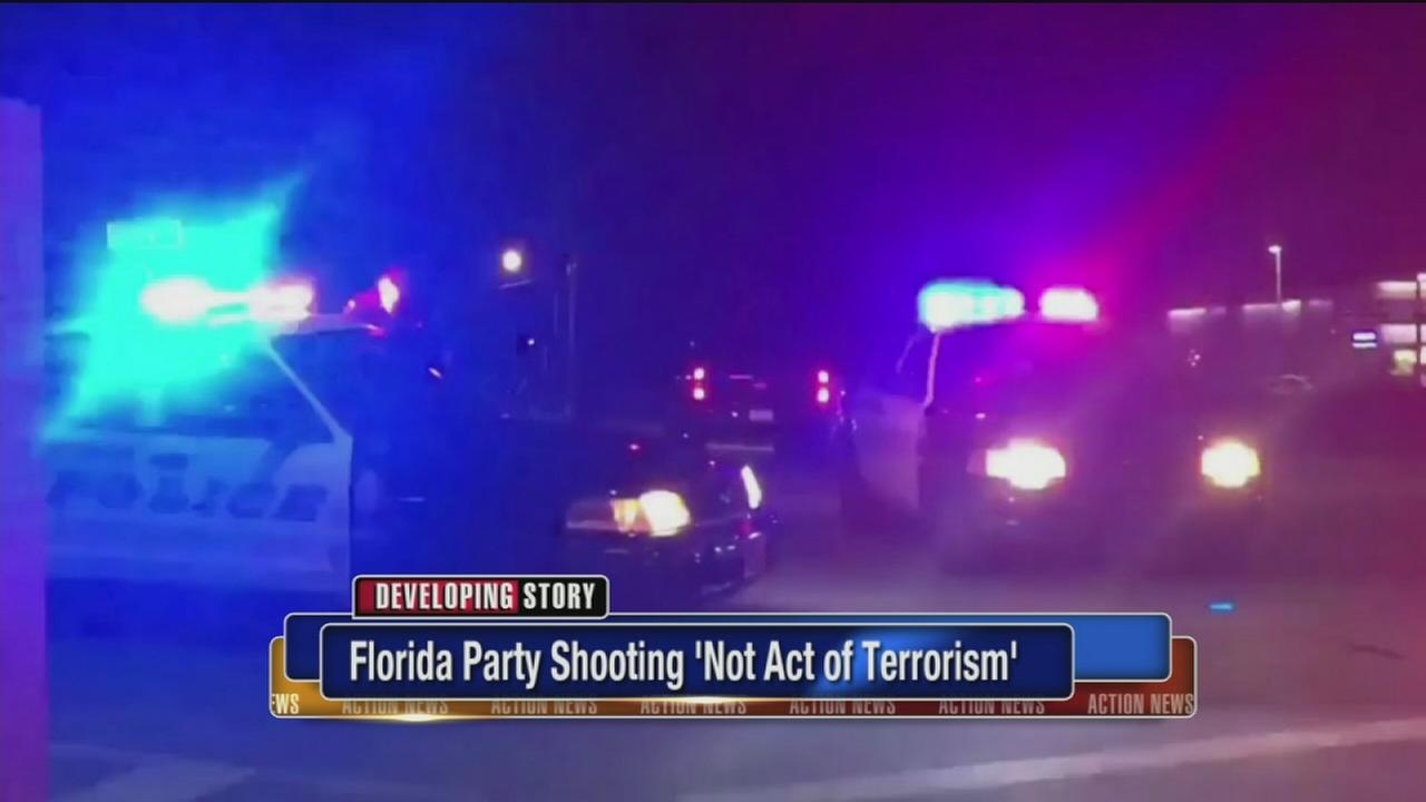 VIDEO: Florida party shooting not an act of terrorism