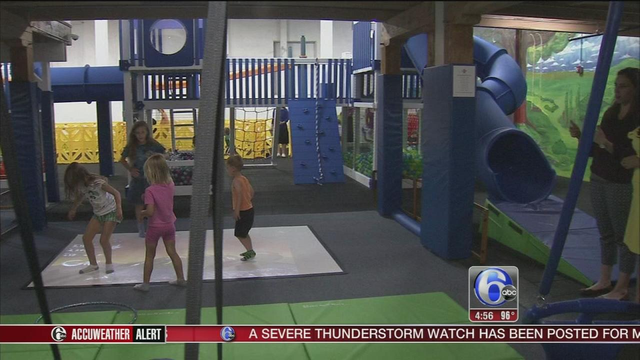 VIDEO: Indoor playground opens in East Falls