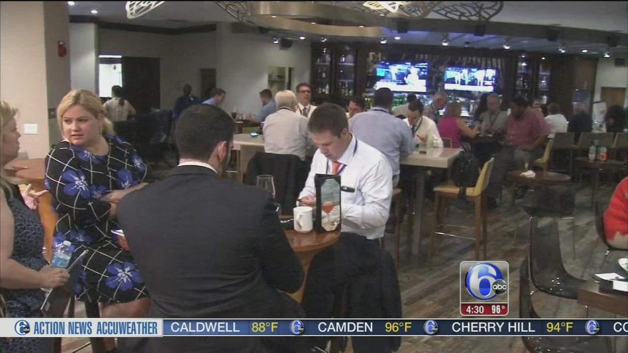 VIDEO: NJ delegates settle in for DNC