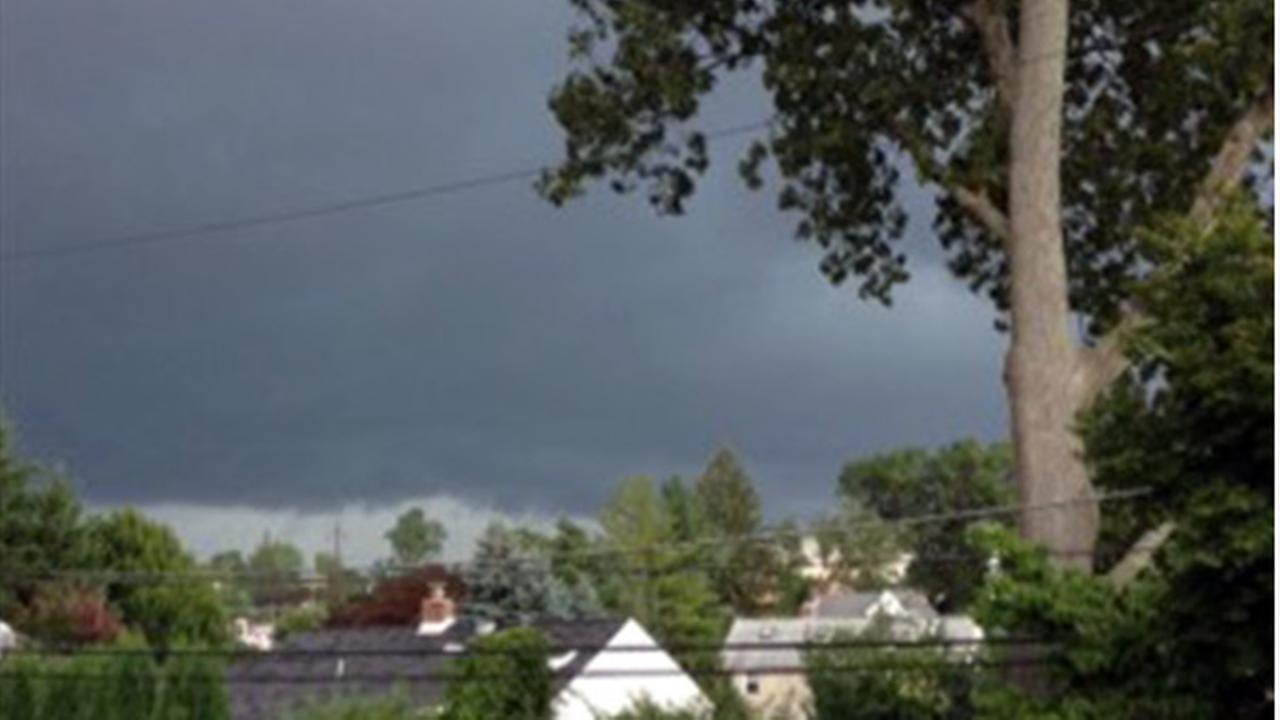 July 25, 2016: Action News viewers captured storms rolling through the region. This scene was submitted by Janine in Paoli, Pa.