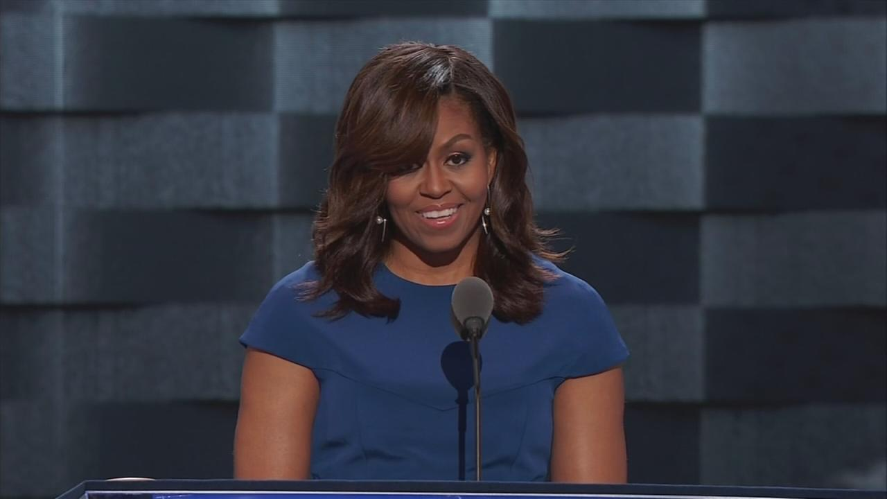 RAW VIDEO: Michelle Obama at the DNC