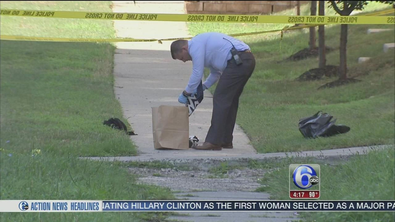 VIDEO: Robbery suspect shot in Wynnefield