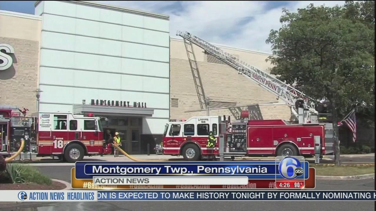 VIDEO: Smoke leads to mall evacuation