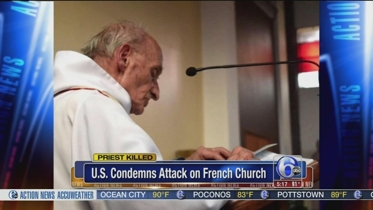 VIDEO: Priest killed during attack in French church