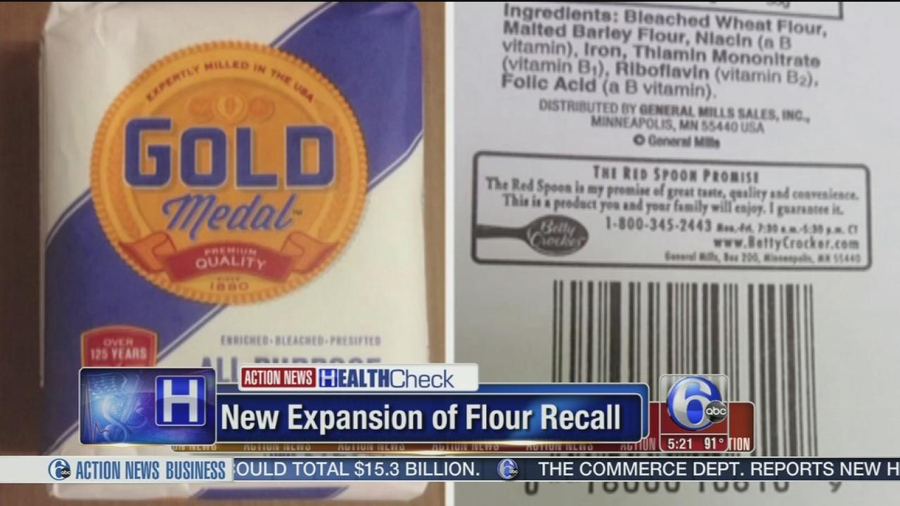 VIDEO: General Mills expands flour recall