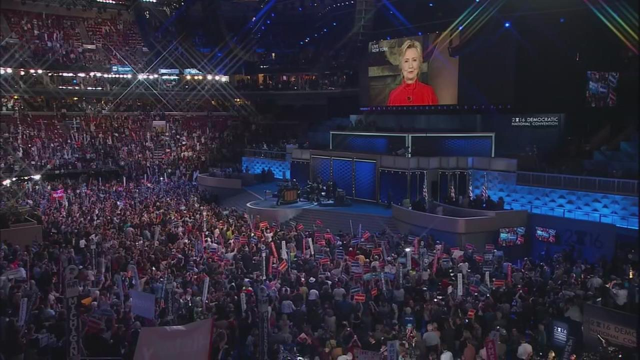 VIDEO: Hillary Clinton addresses DNC delegates