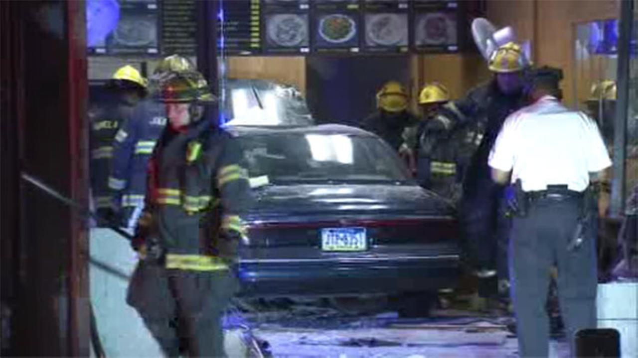 Car plows into South Philadelphia restaurant