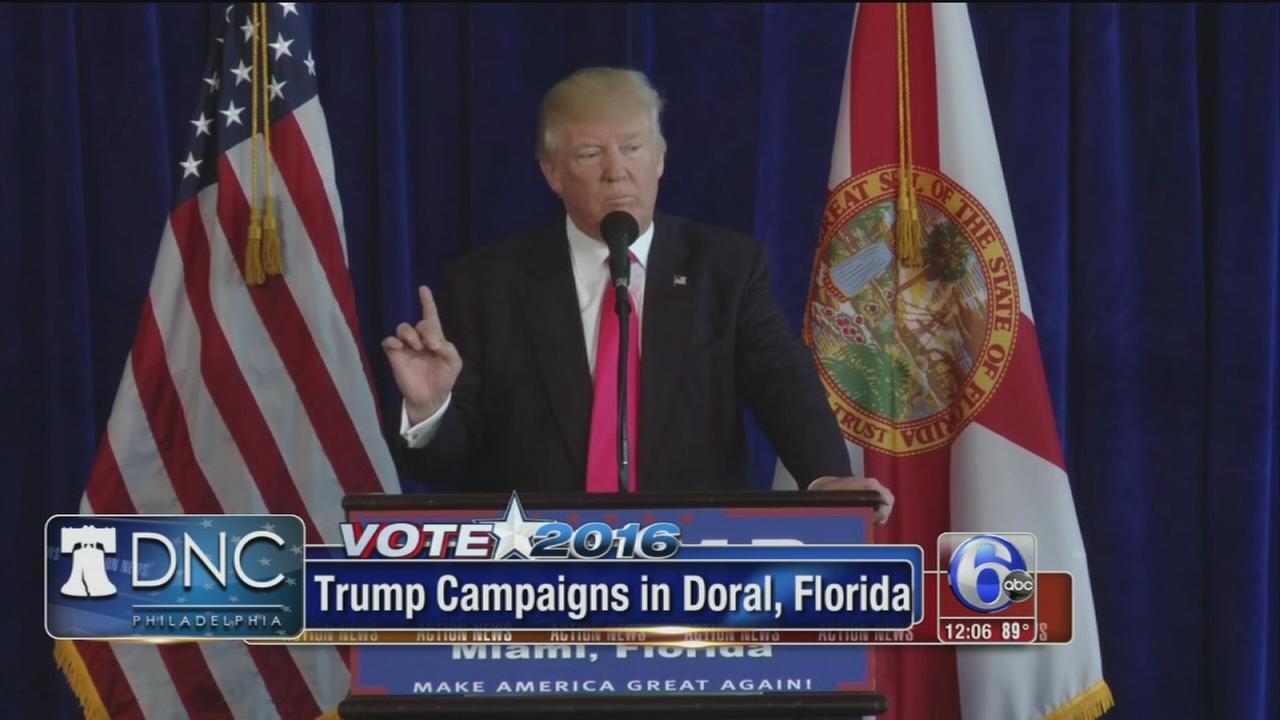 VIDEO: Trump to campaign in Scranton
