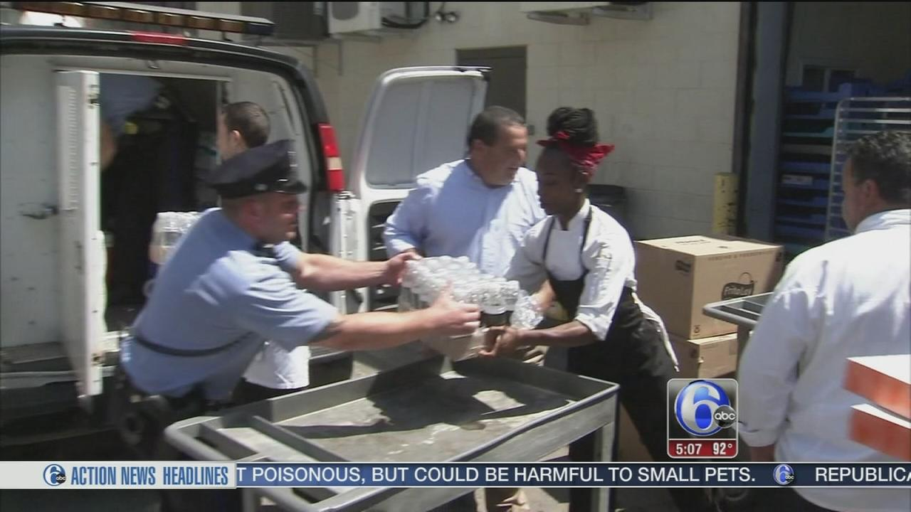 VIDEO: Helping police cope with heat