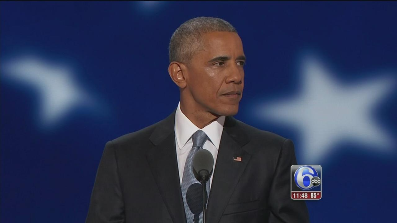 VIDEO: Obama addresses DNC