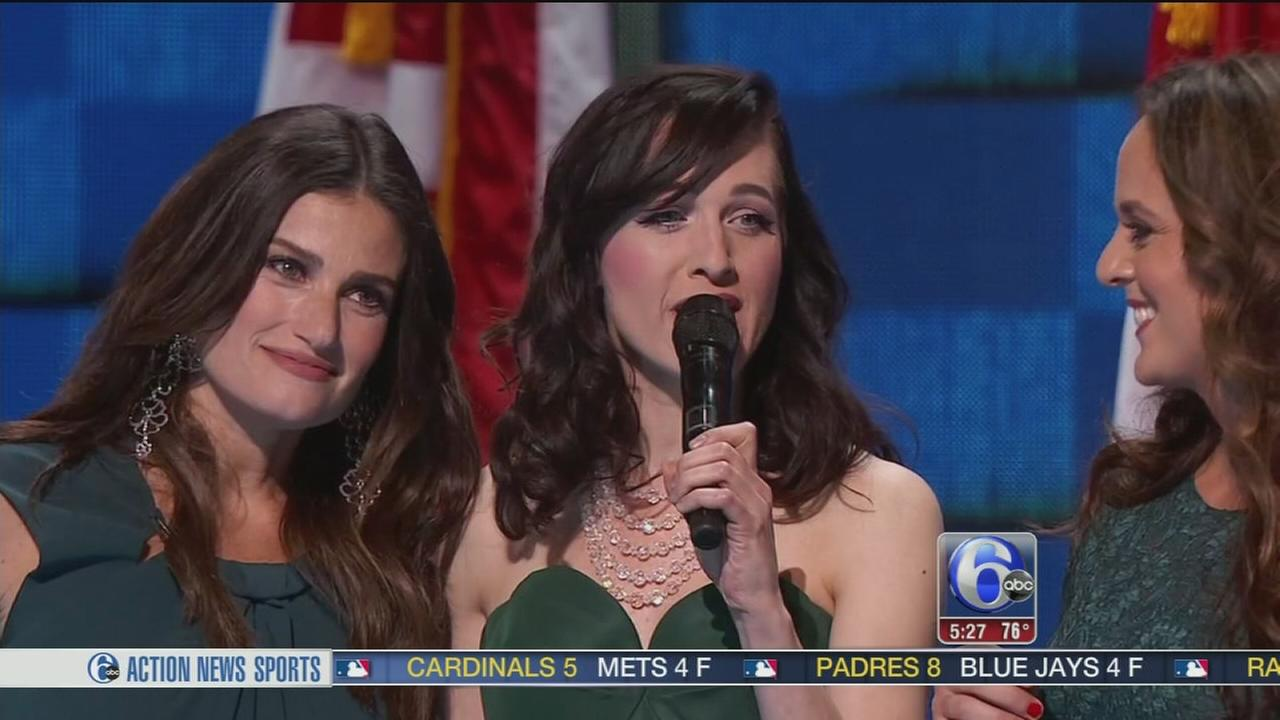 VIDEO: Broadway stars perform at DNC