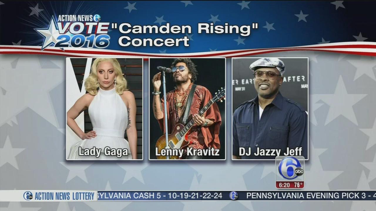 VIDEO: Hollywood, hip hop mixing politics at DNC