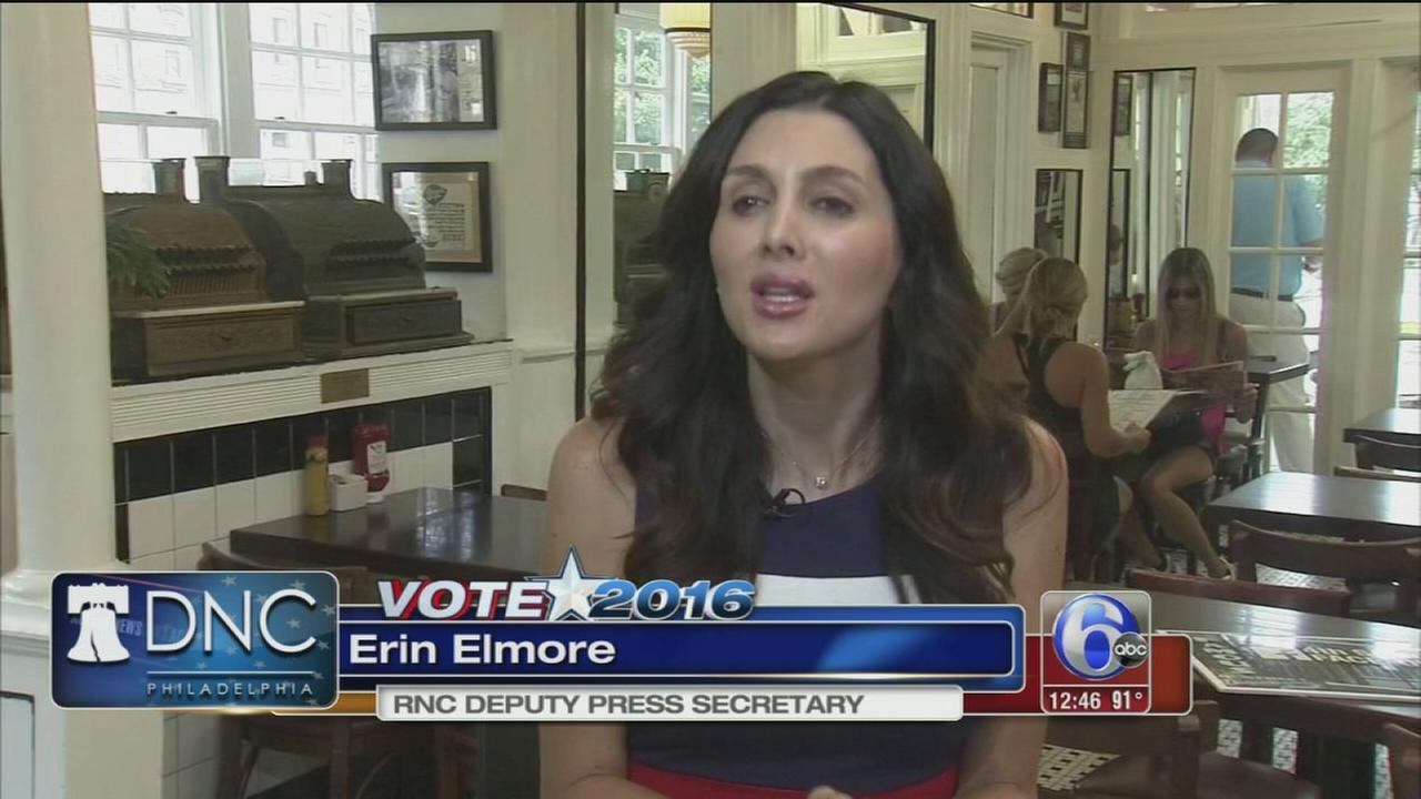 VIDEO: Talking DNC at 4th Street Deli