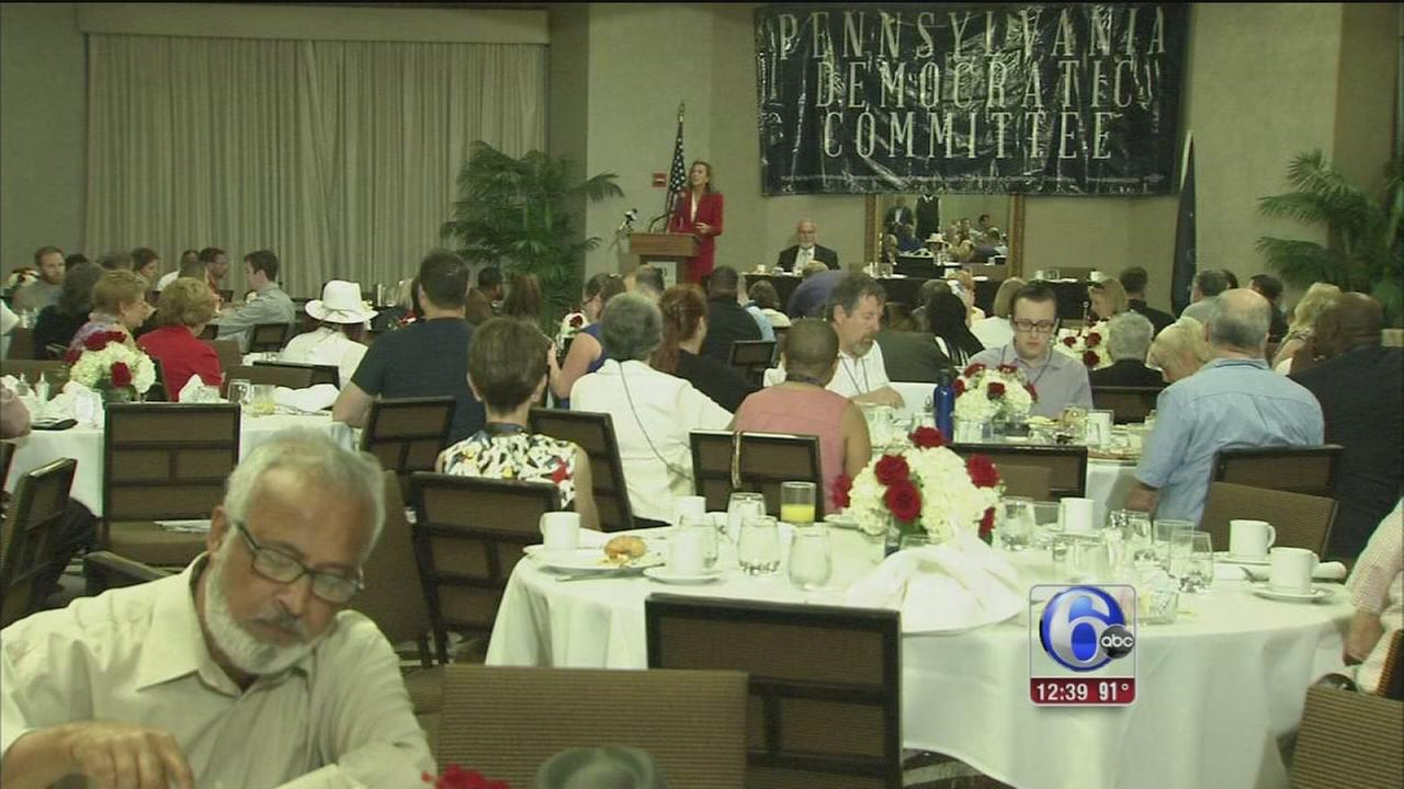 VIDEO: Pa. delegates ready for historic night
